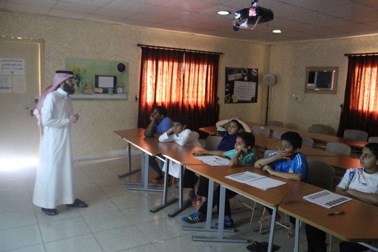 مع أ. محمد القحطاني لقاء الموهوبين الإثرائي في المصادر ( السمنة )