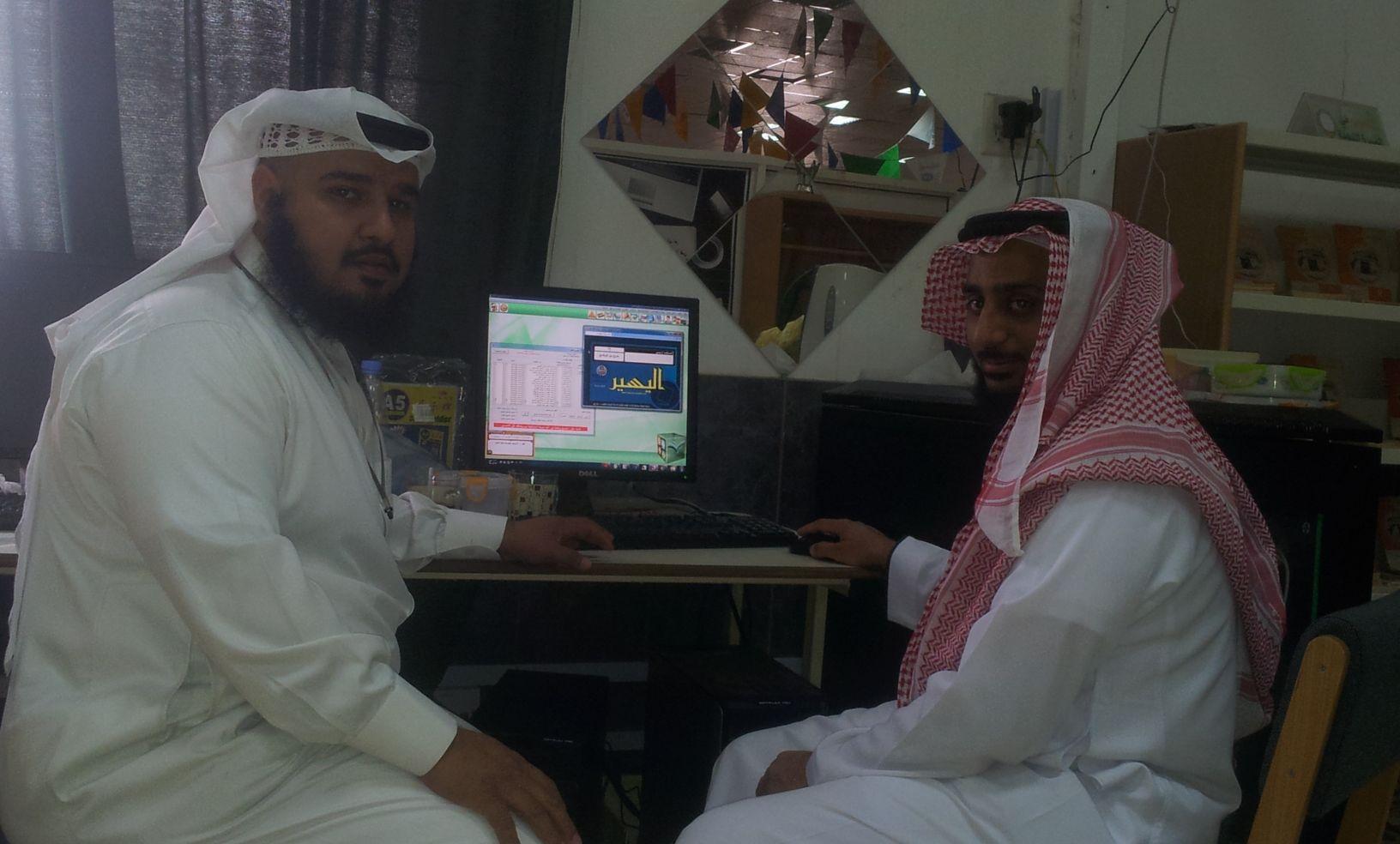 زيارة تبادل خبرات من أ. عبد القادر الحميدان