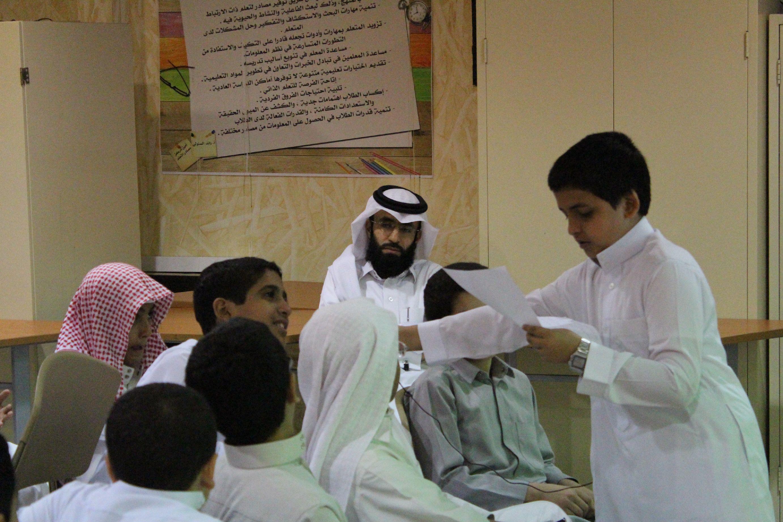 درس معلم المستقبل / خالد الزهراني